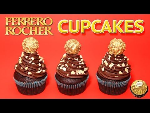 RECETTE CUPCAKE FERRERO ROCHER - CARL IS COOKING
