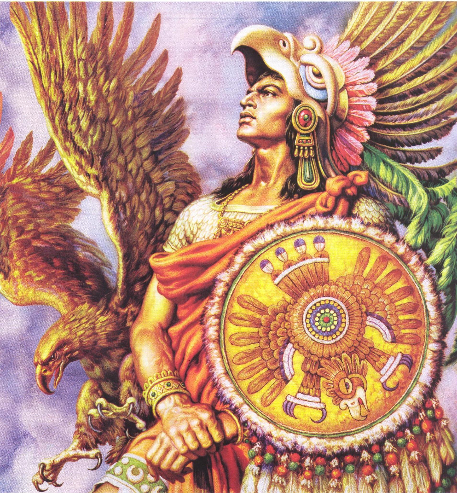 04-cuauhtmoc Aztec In 2019 Jesus Helguera Ancient