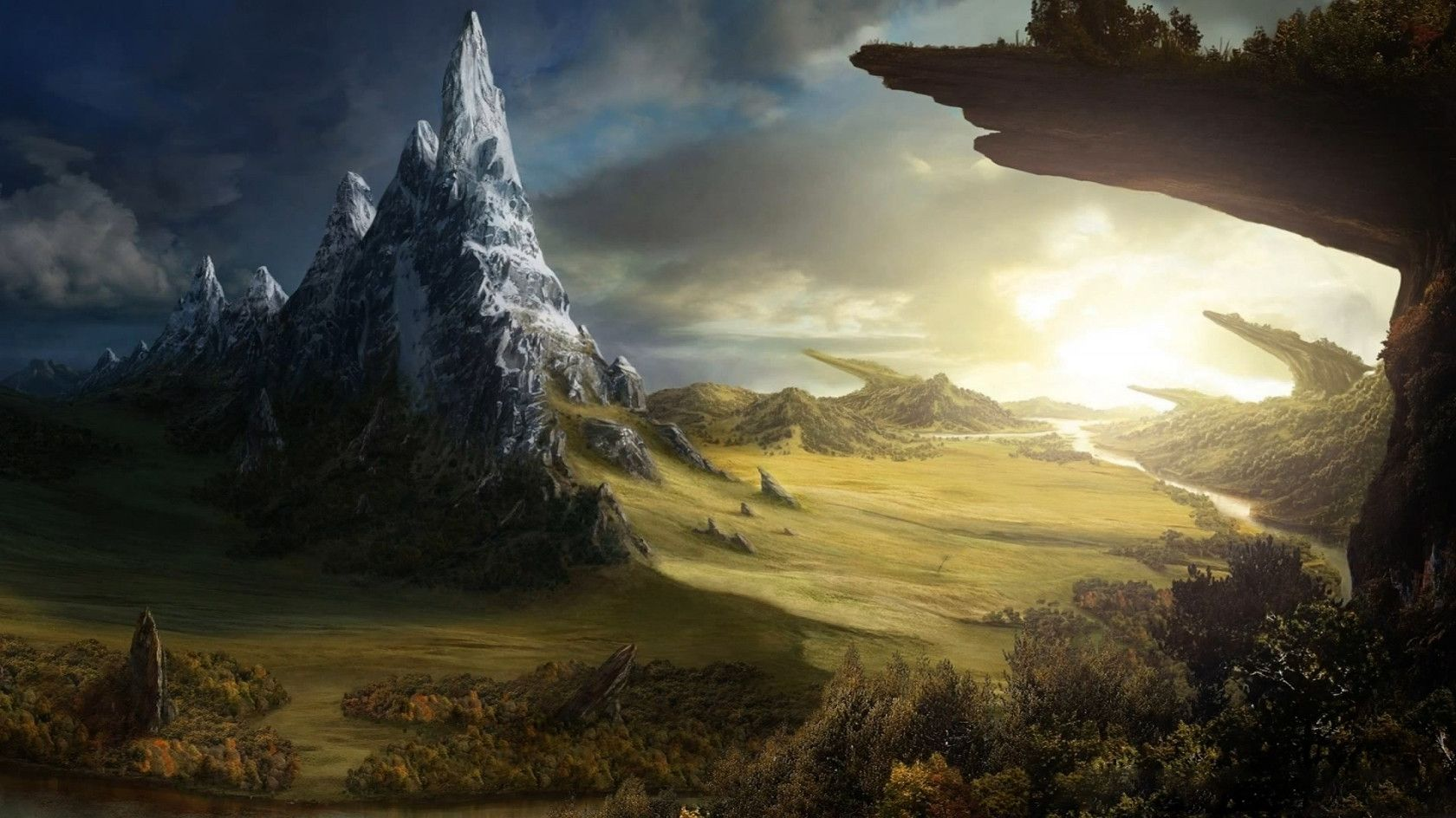 Scenic Fantasy Wallpaper Art Collection Part 4 With Images