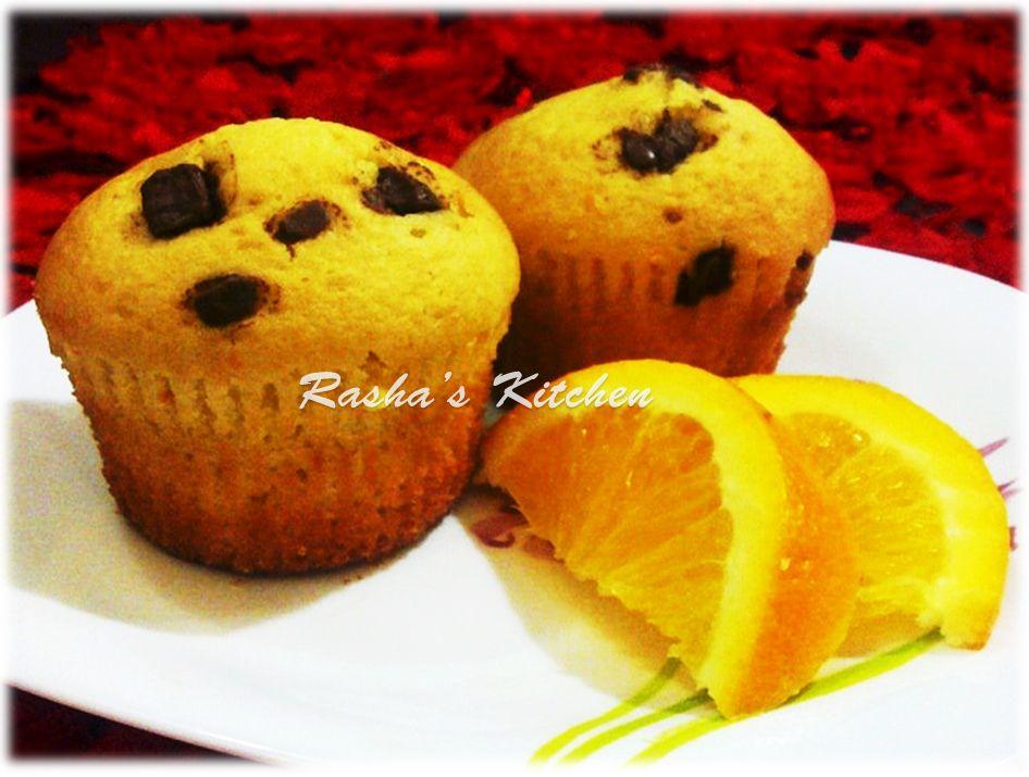 كب كيك البرتقال Arabic Food Cupcake Cakes Food