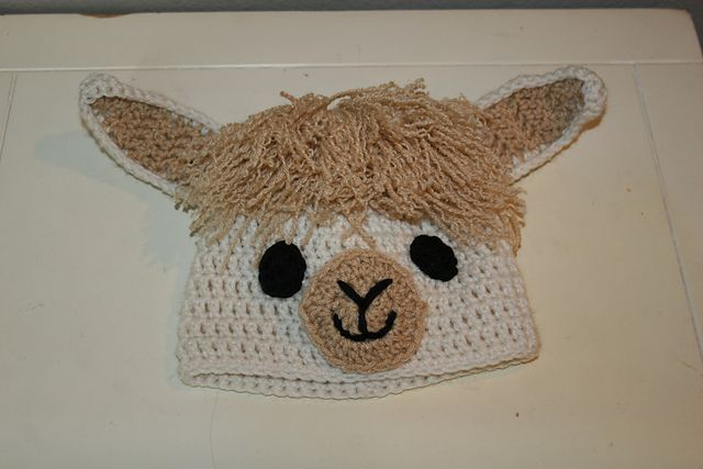 Ravelry: Llama / Alpaca Hat pattern by The Crafty Flutist | Crafty ...
