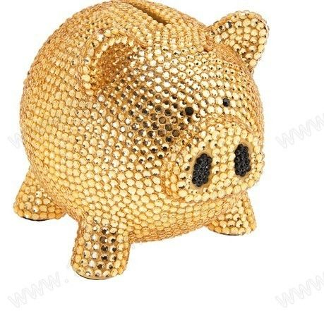 Rhinestone piggy bank a penny saved pinterest piggy banks and crafts - Rhinestone piggy bank ...