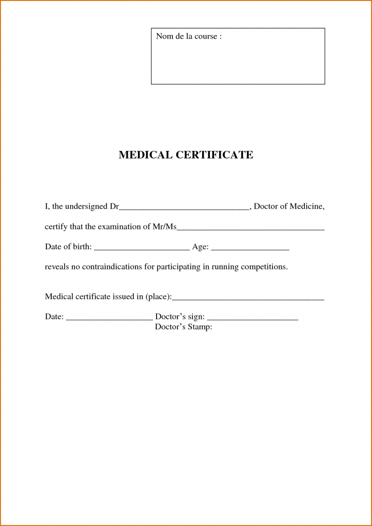 6 Doctors Note Template Authorizationletters Org Doctors Note Template Doctors Note Notes Template
