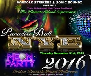 Celebrate the New Year Neon-style at Golden Peacock Grand Ballroom