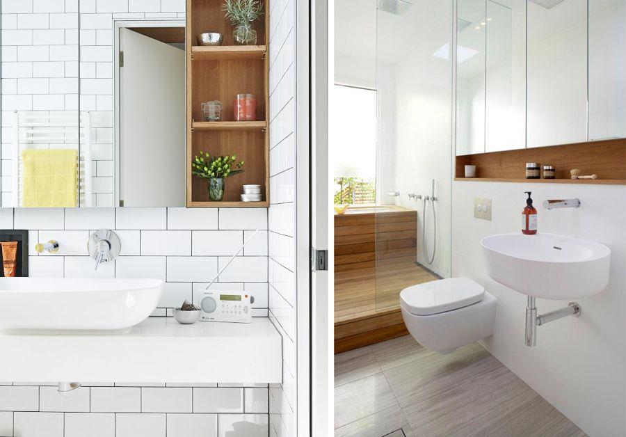 Specchio contenitore bagno bathroom