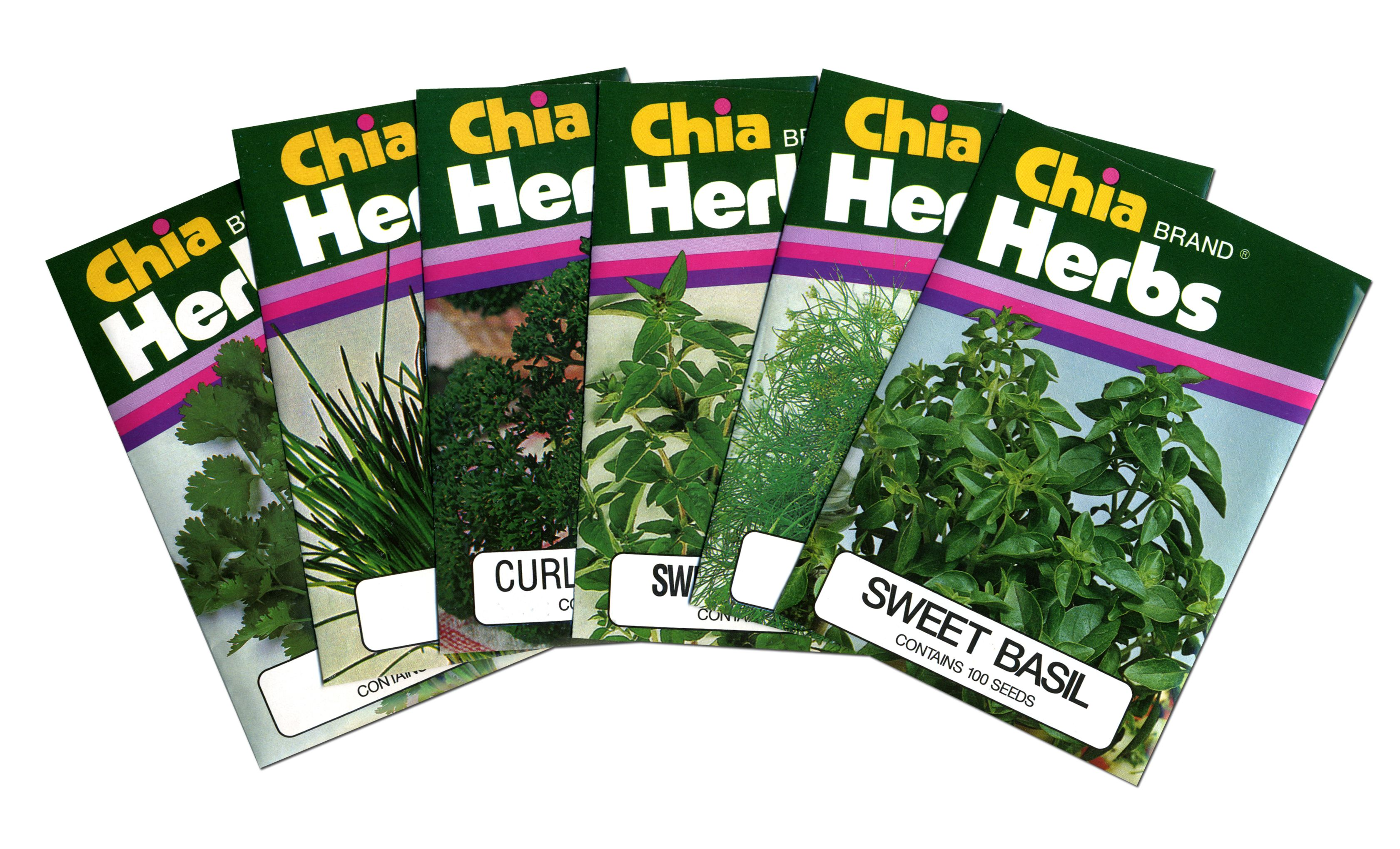Look At All The Herbs You Can Grow With The Chia Gourmet Herb