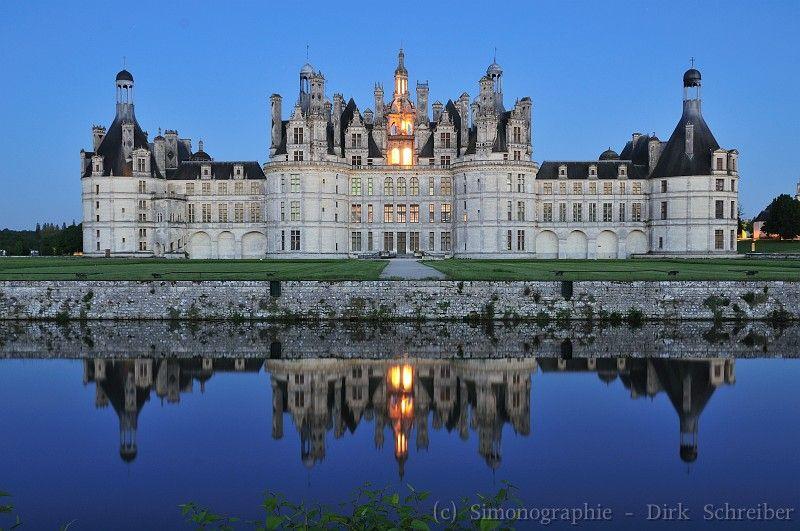 Chateau de Chambord #Loire #France