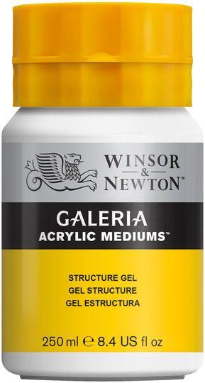 Winsor & Newton Galeria Acrylic Medium, Structure Gel