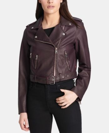 0efe44ef2 Levi's Faux-Leather Moto Jacket - Tan/Beige XL in 2019 | Products ...