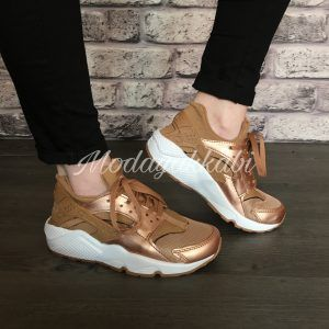 nike air max huarache rose gold