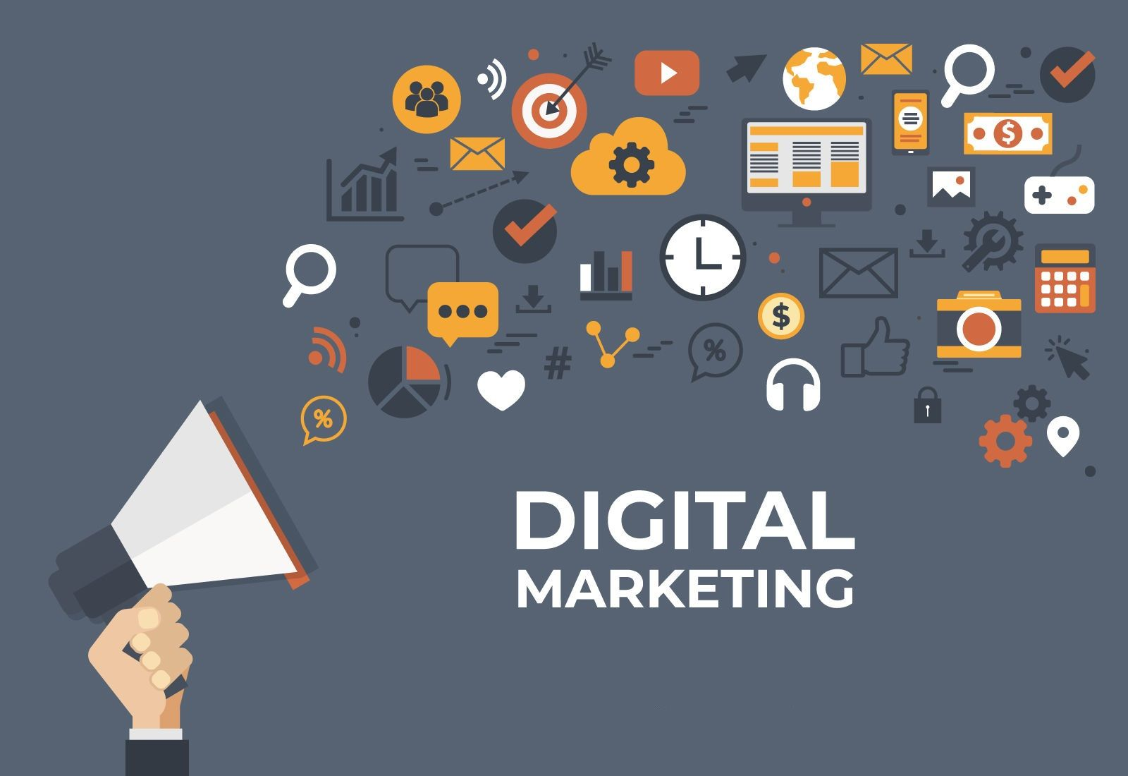 Top Digital Marketing Agency Uae Digital Business Card Digital Marketing Agency Digital Marketing Design