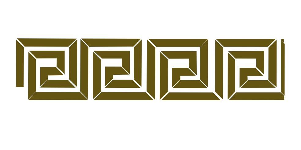 Designer Stencils Narrow Greek Key Wall Stencil SKU #2652