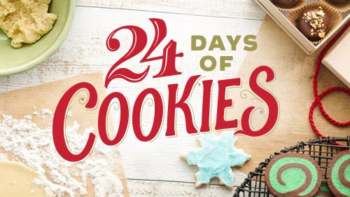 24 Days Of Cookies Recipe Holiday Favorites Cookies Holiday