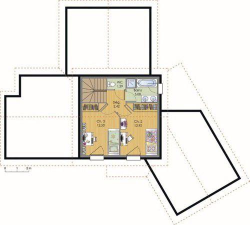 Maison contemporaine - faire un plan maison