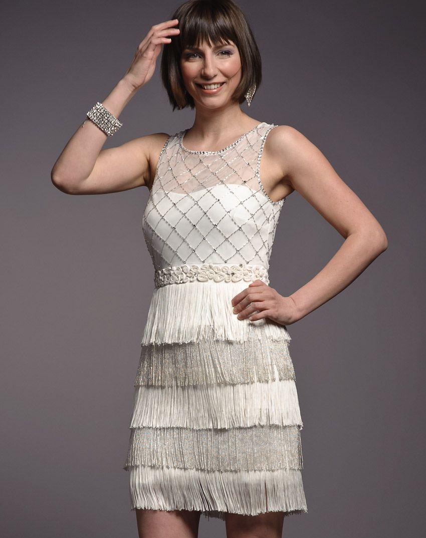 Rent Frock Repeat Cream Fringe Dress | Style | Pinterest | Frocks ...