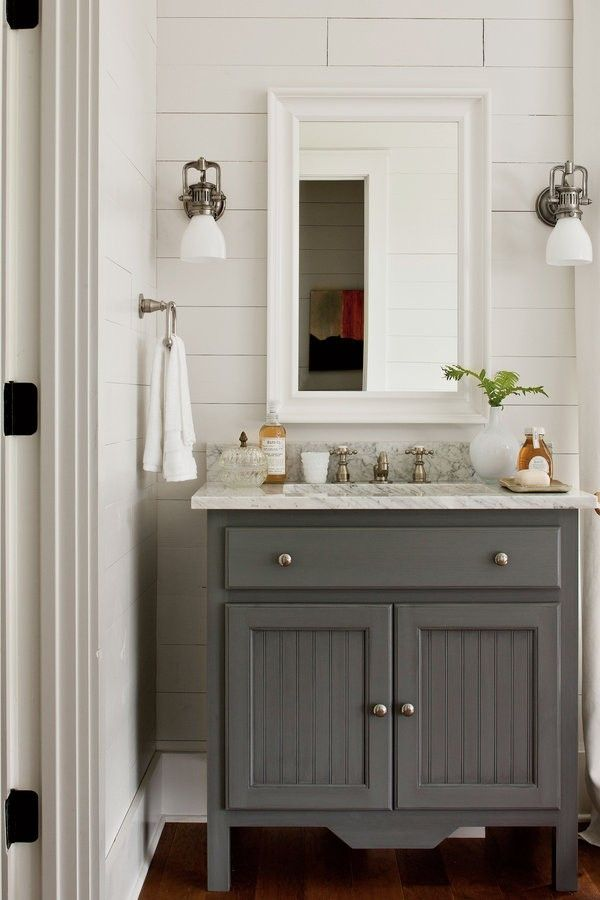 26 Vintage Bathroom Furniture Grey Bathroom Vanity Farmhouse Bathroom Vanity Cottage Bathroom