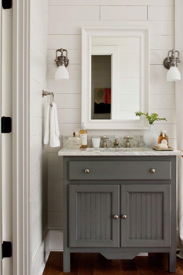 26 Vintage Bathroom Furniture Grey Bathroom Vanity Cottage