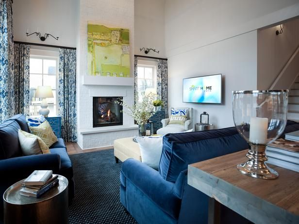 Interior before and after room pictures from hgtv smart - Hgtv before and after living rooms ...