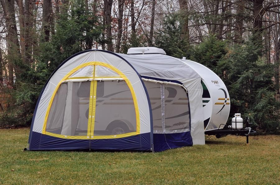 R Pod with Screen Room | camper | Pinterest | Camping, Rv ...