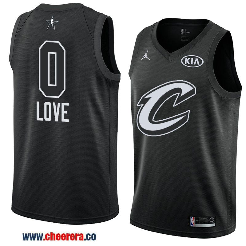 men s eastern conference cleveland cavaliers  0 kevin love black 2018 nba  all-star jersey fa50ecc69