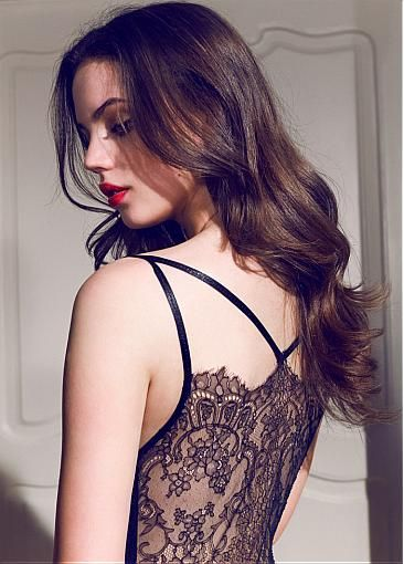 Gorgeous Lace & Stretch Satin Spaghetti Straps Mermaid Evening Dresses