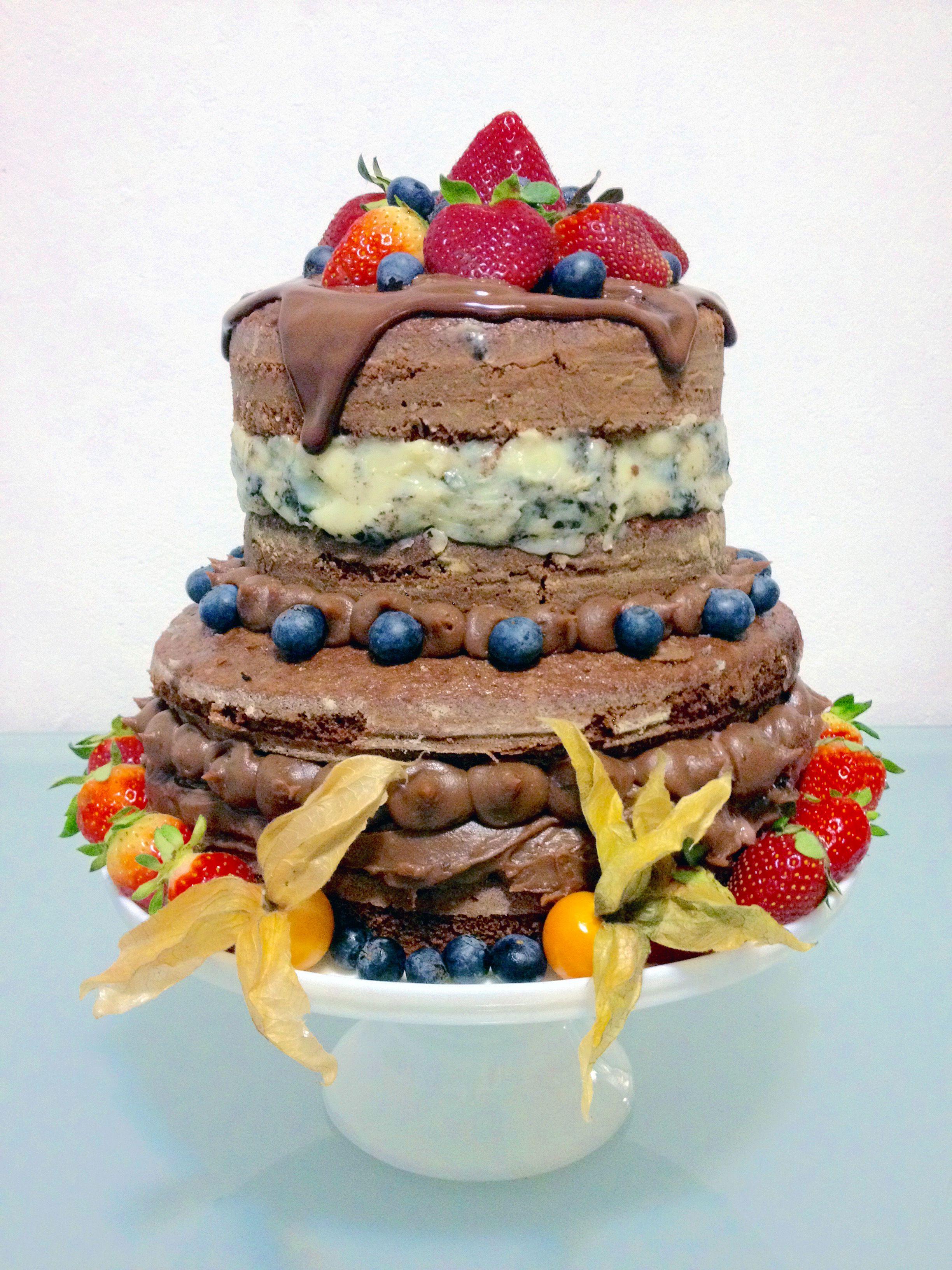 Pin em decoração de bolos - nakeds e semi-nakeds