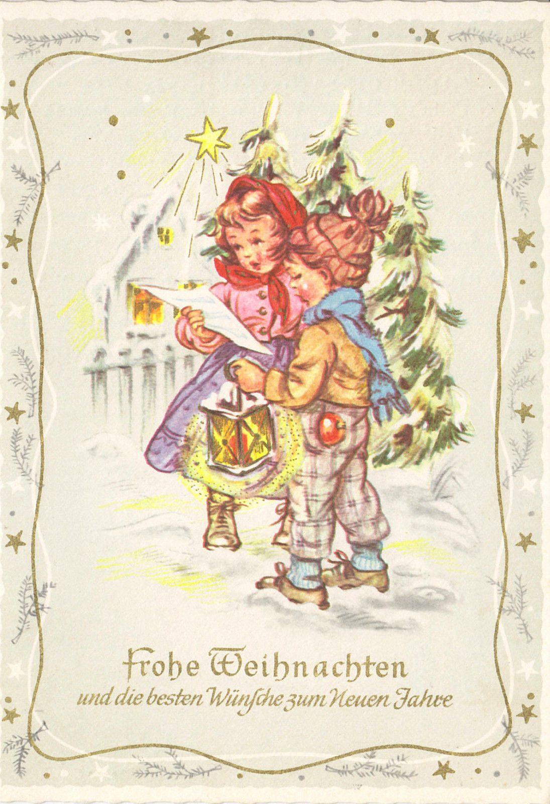 Weihnachten - Kinder singen, 1960   eBay   Christmas - Winter ...