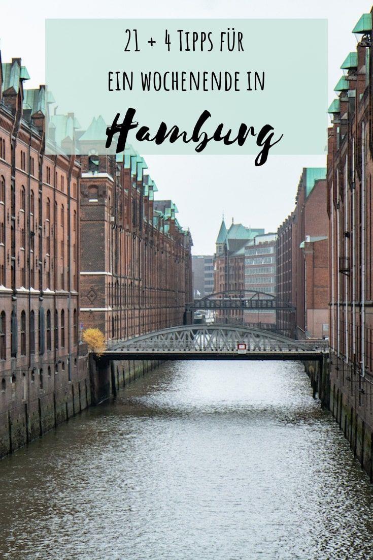 Meine 21+ 4 Hamburg Tipps: von Frühstück über Shopping bis Sightseeing