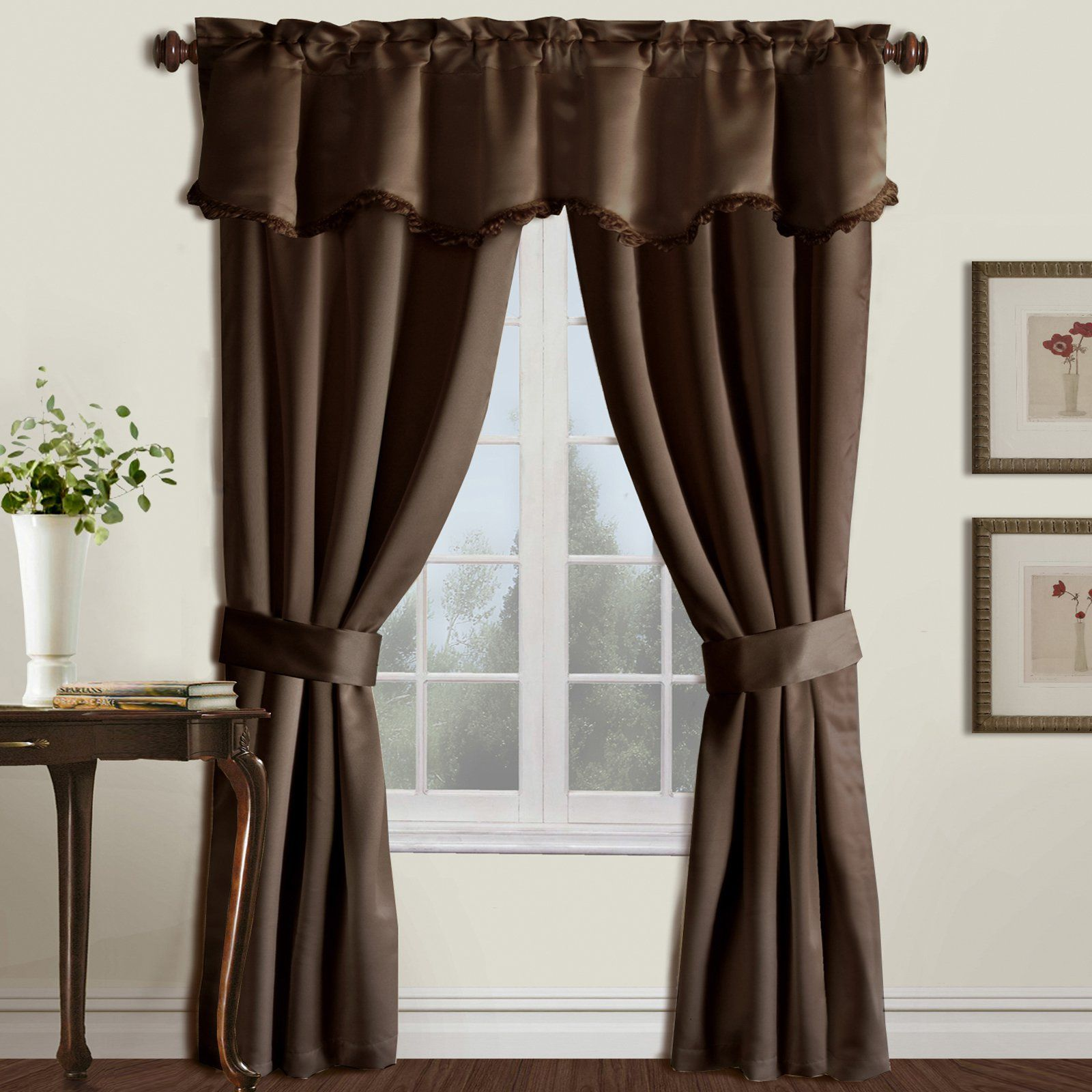 Living Room Curtain Sets Curtains Rod Pocket Curtains Curtains