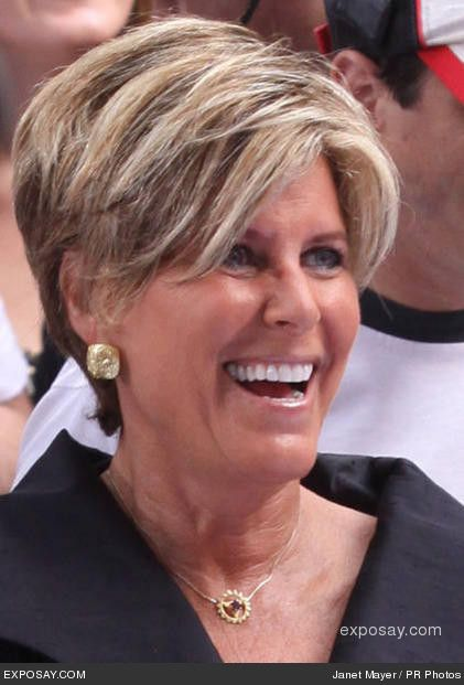 Suze Orman She Can Zany But Got Good Hair
