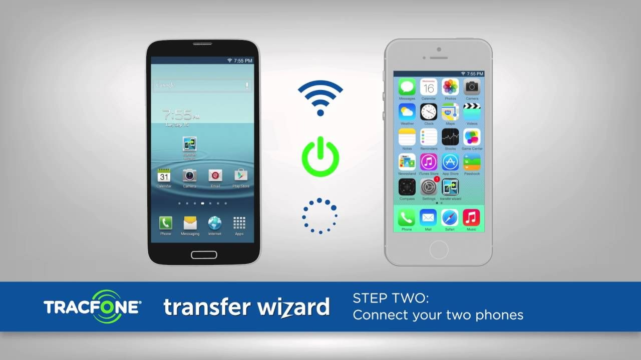 Use Transfer Wizard to Move Stuff to Your New Phone in No
