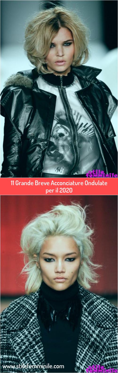 Photo of 11 Grande Breve Acconciature Ondulate per il 2020
