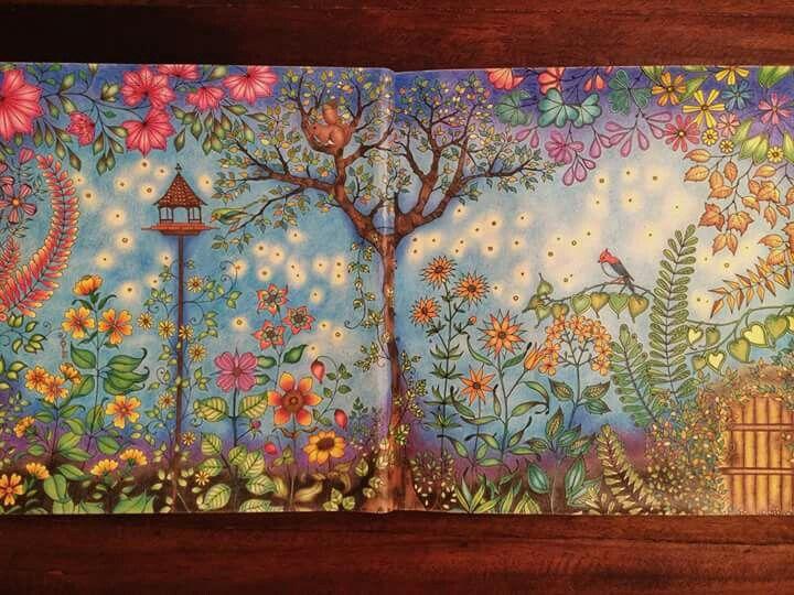 Jardim Secreto Porta Johanna Basford Coloring BooksAdult