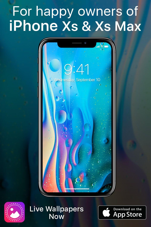 live wallpaper iphone xs