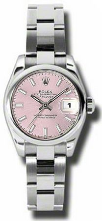 5a34ee409a3 Rolex Datejust Lady Steel 179160 Oyster Perpetual Datejust