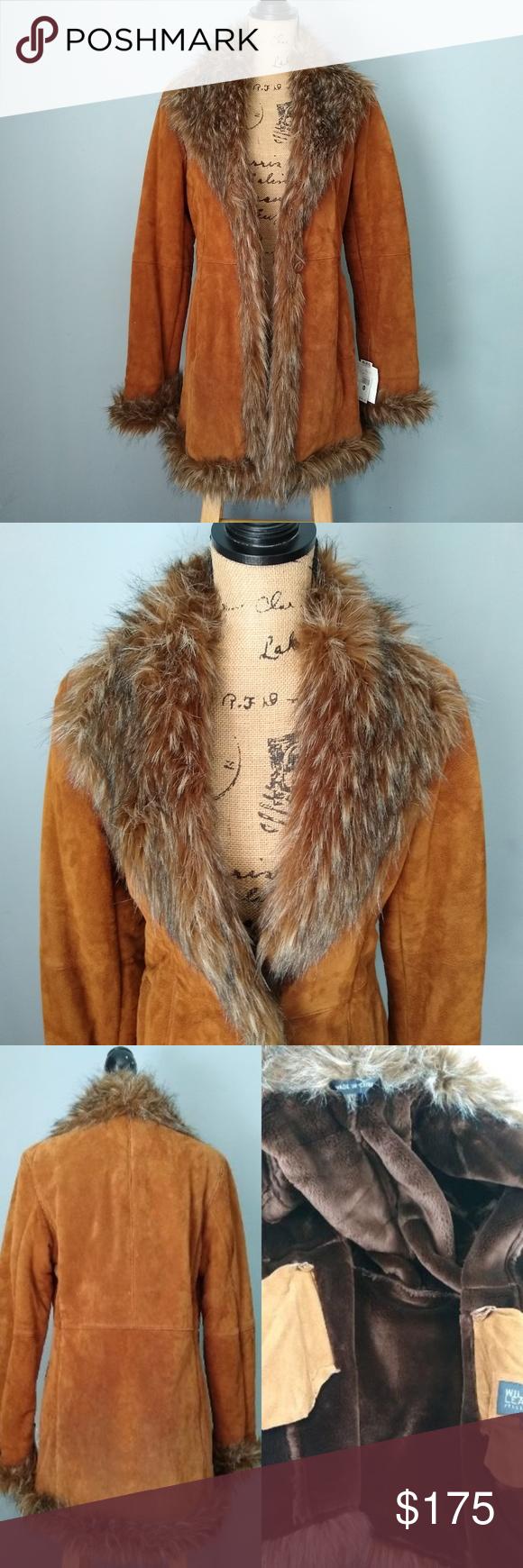 Wilsons Leather Pelle Studio Women's Medium Coat Wilsons