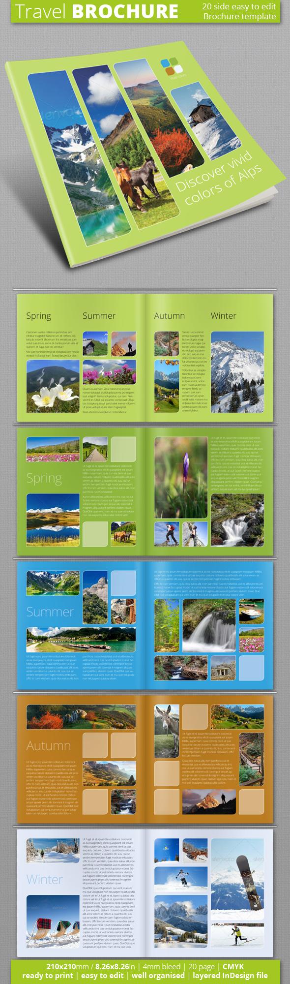 Travel Brochure Travel Brochure Brochure Template And Brochures - Information brochure template