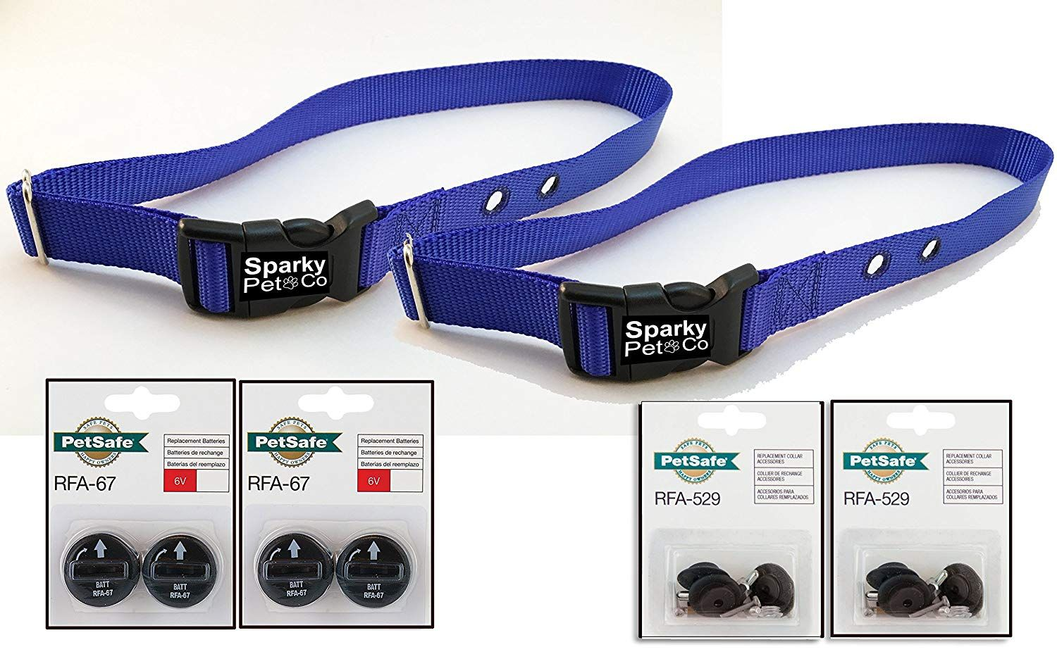 Sparky Petco Petsafe Compatible 2 Rfa 41 3 4 Navy Blue Color Dog Replacement Collar And 2 529 2 2 Rfa With Images Dog Training Pads Dog Training Collar Dog Diapers