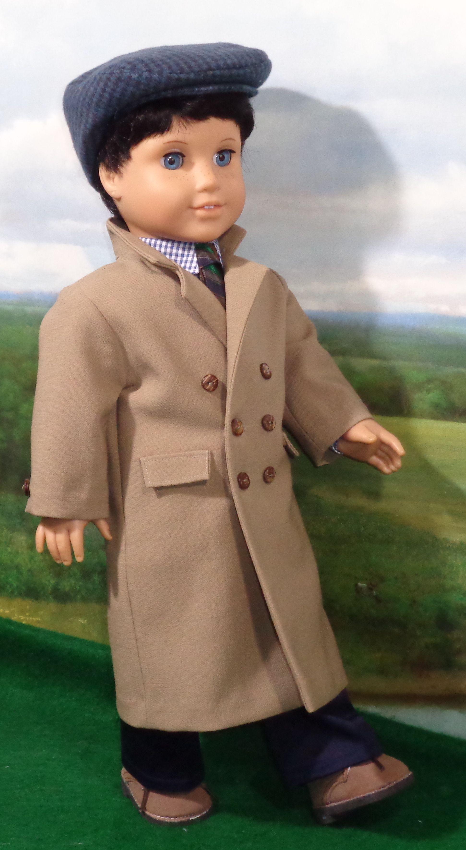 Overcoat | ropa para muñecas | Pinterest | Patrones, Muñecas y Ropa