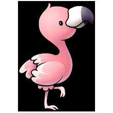 Flamingo kawaii. Majorclanger co uk fluffimagesf