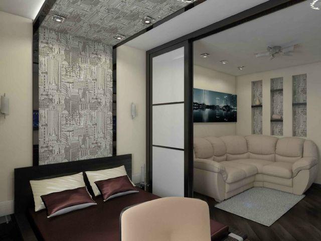 Raumteiler für Schlafzimmer - 31 Ideen zur Abgrenzung Tina - raumteiler schlafzimmer ideen