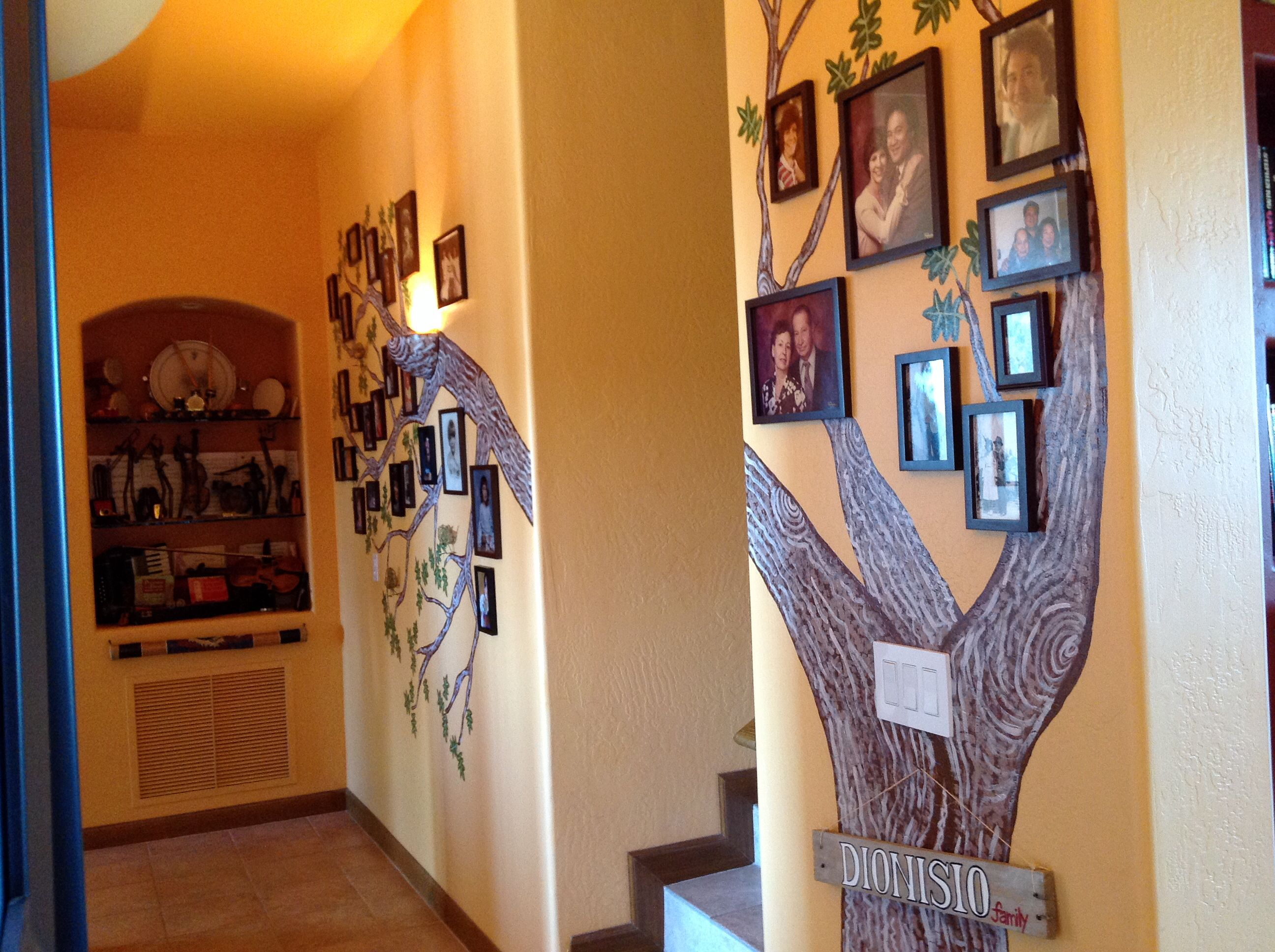 My Two Wall Mural, Family Tree