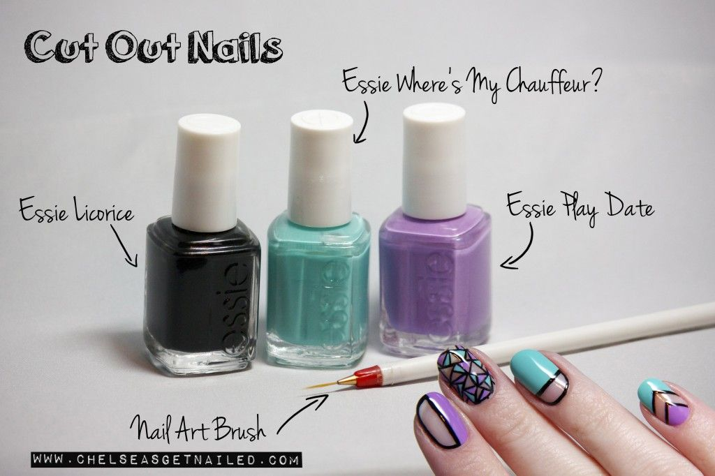 Cut Out Nails www.chelseasgetnailed.com | No Dirt Under These Nails ...