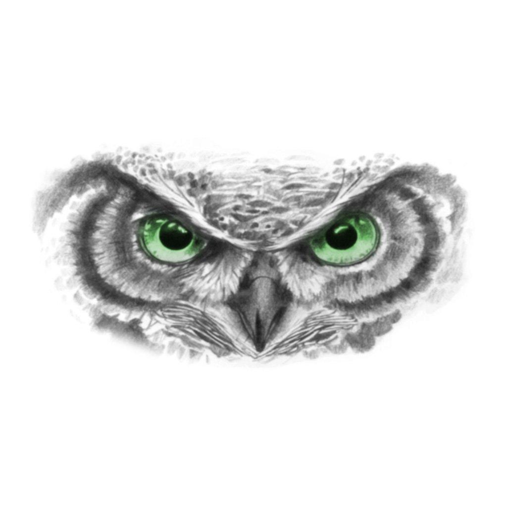 Owl Eyes Tattoo Owl Eye Tattoo Tiger Eyes Tattoo Owl Tattoo Drawings