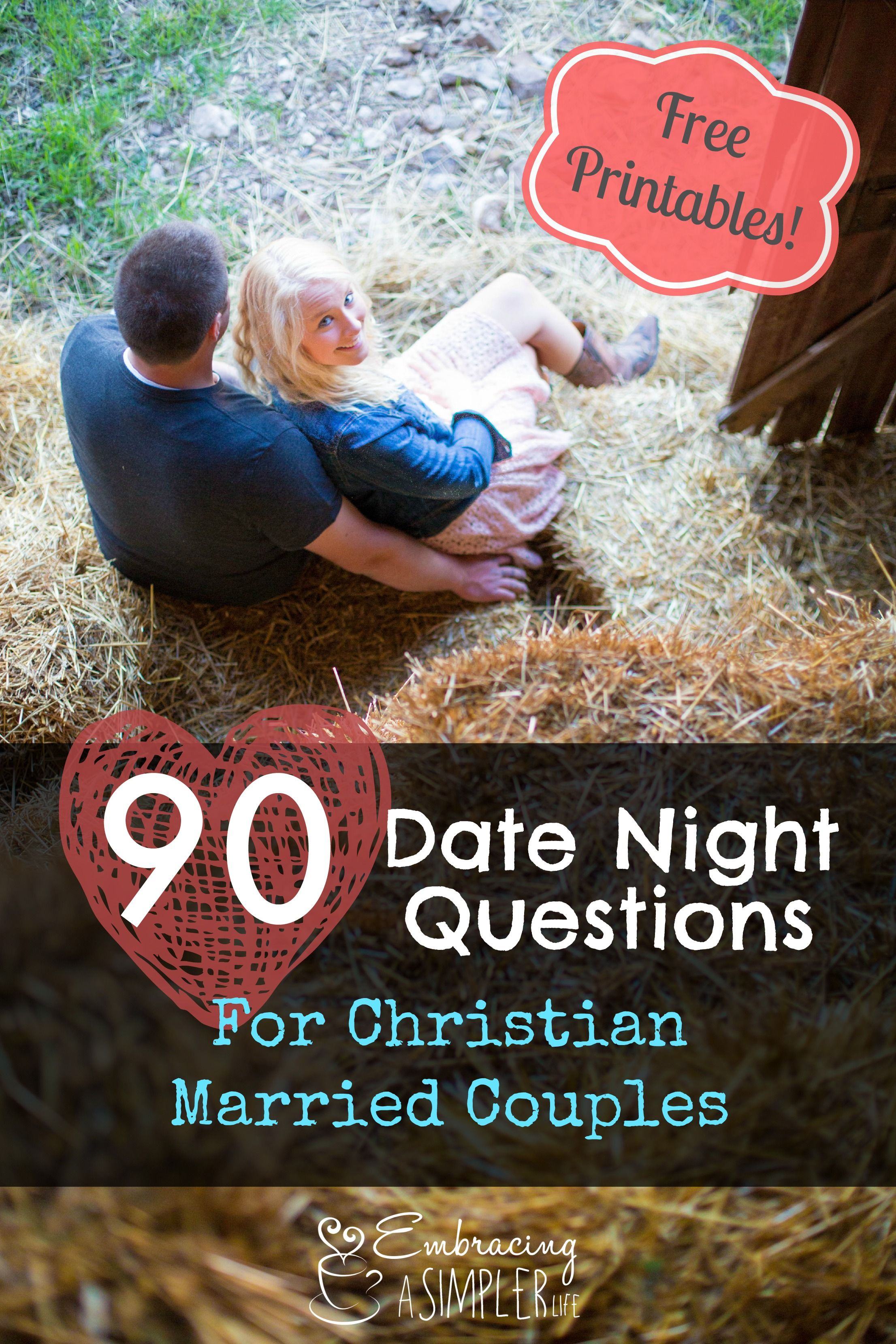 90 Date Night Questions For Married Couples