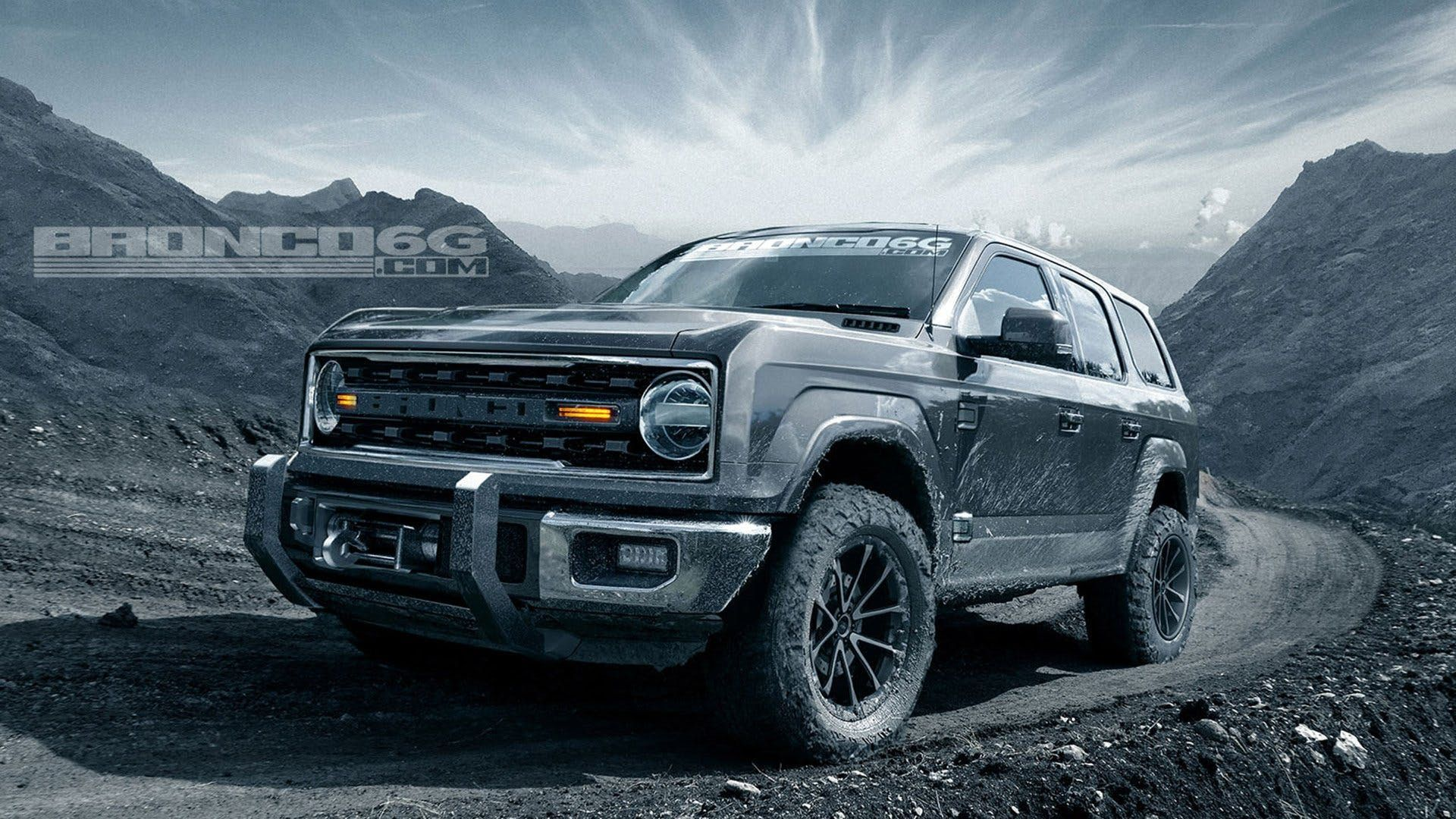 4 Door 2020 Ford Bronco Concept Isn T Real Still Awesome Regardless Ford Bronco Ford Bronco 4 Door 2019 Ford Bronco