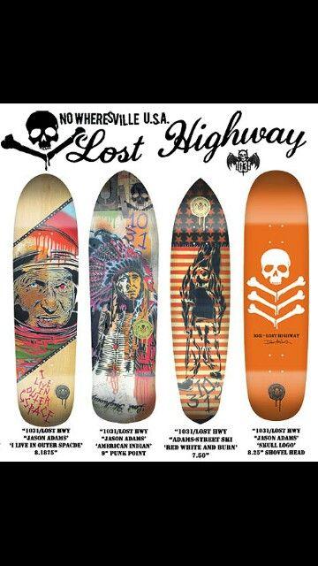Lost Highway 1031 Lost Highway Shovelhead Skateboard