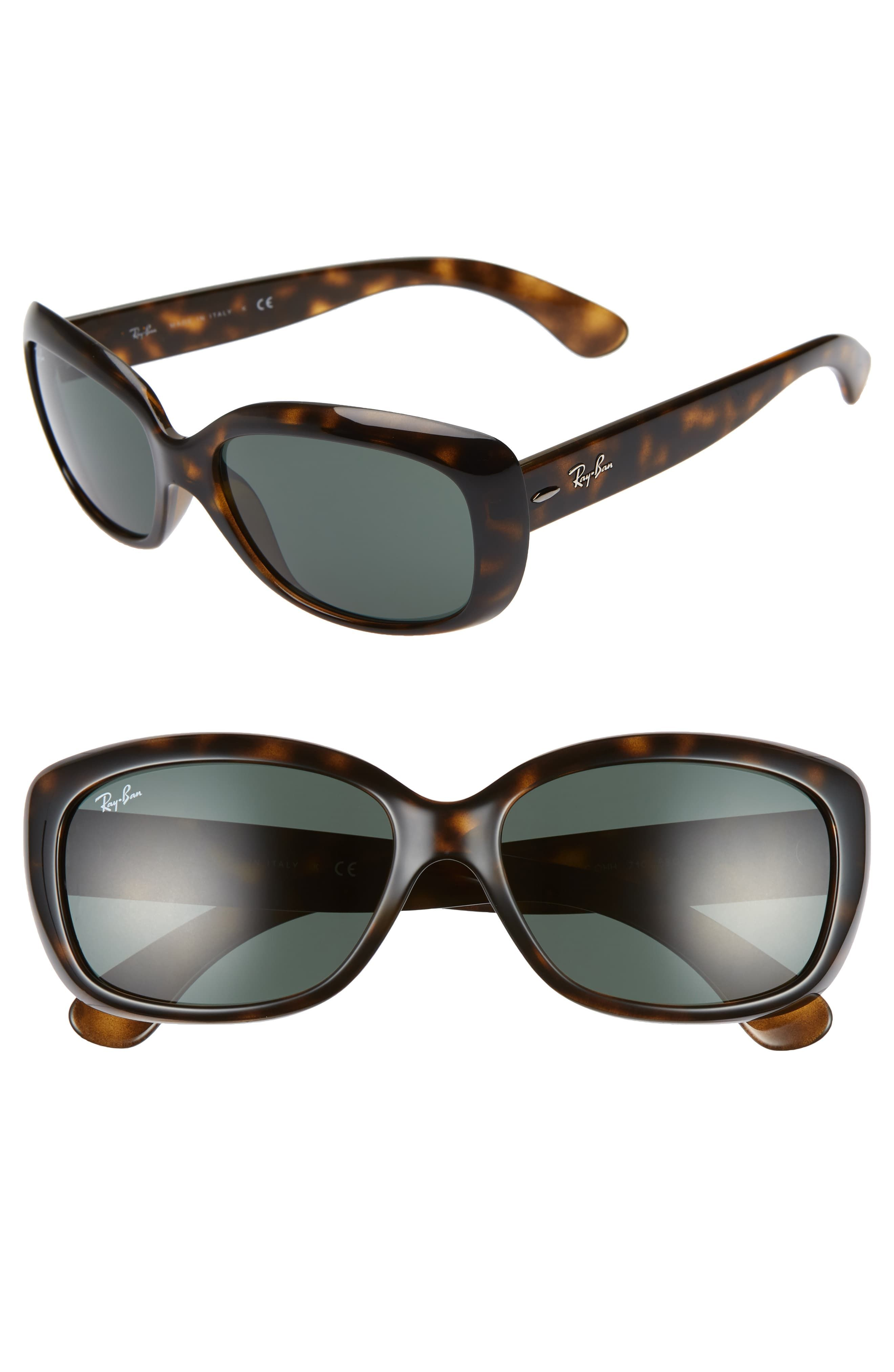 Ray Ban Jackie Ohh 58mm Cat Eye Sunglasses Sunglasses Cat Eye Sunglasses Jackie O Sunglasses