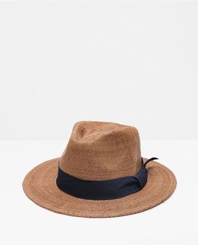 Straw Hat View All Accessories Man Hut Manner Zara