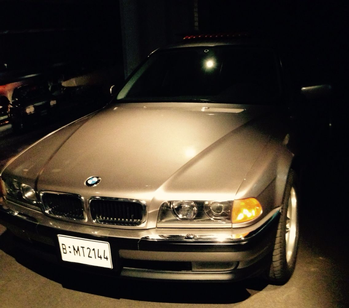 BMW from 007 movie